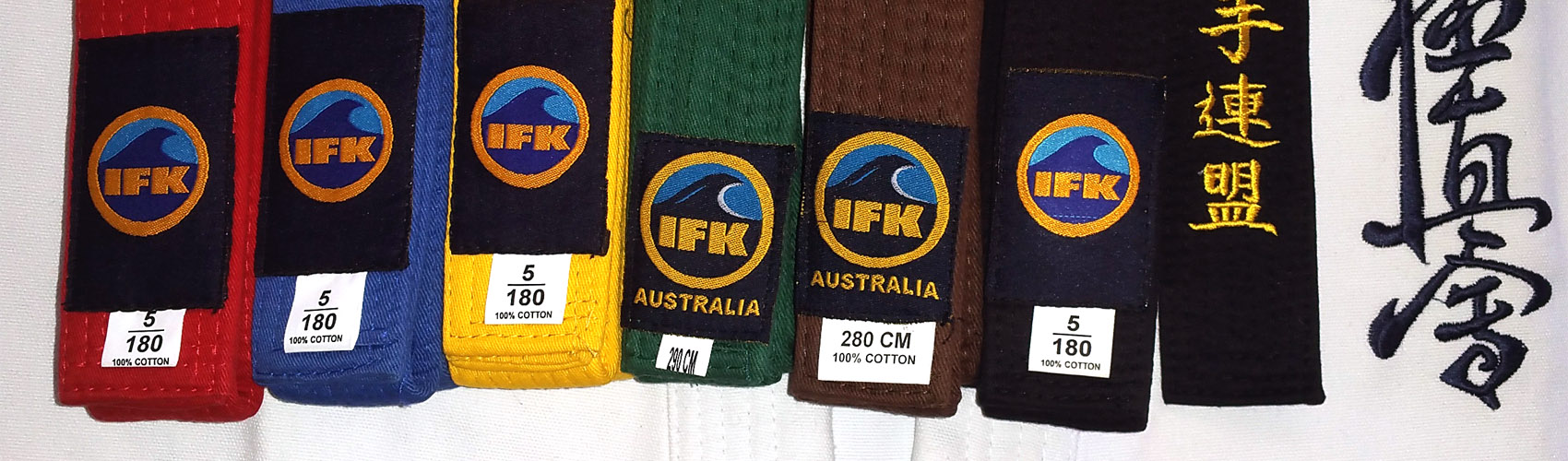 Find out about IFK Australia belt gradings